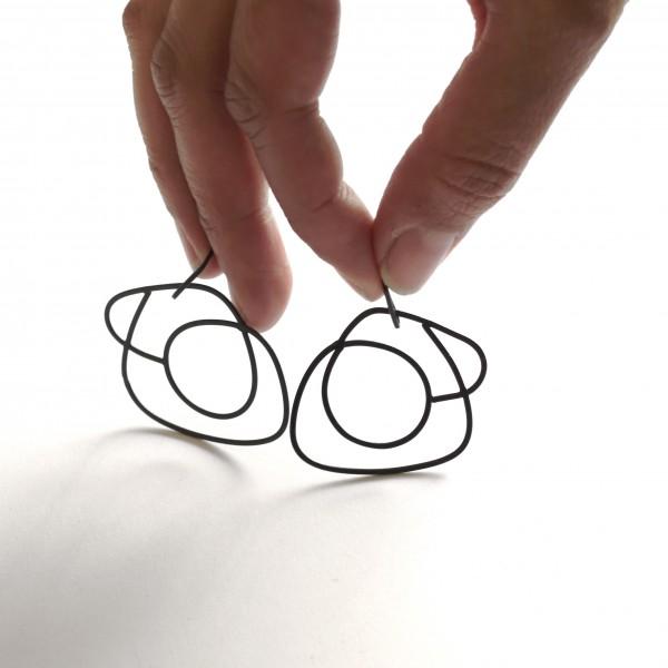 Boucles d'oreilles Dauphine