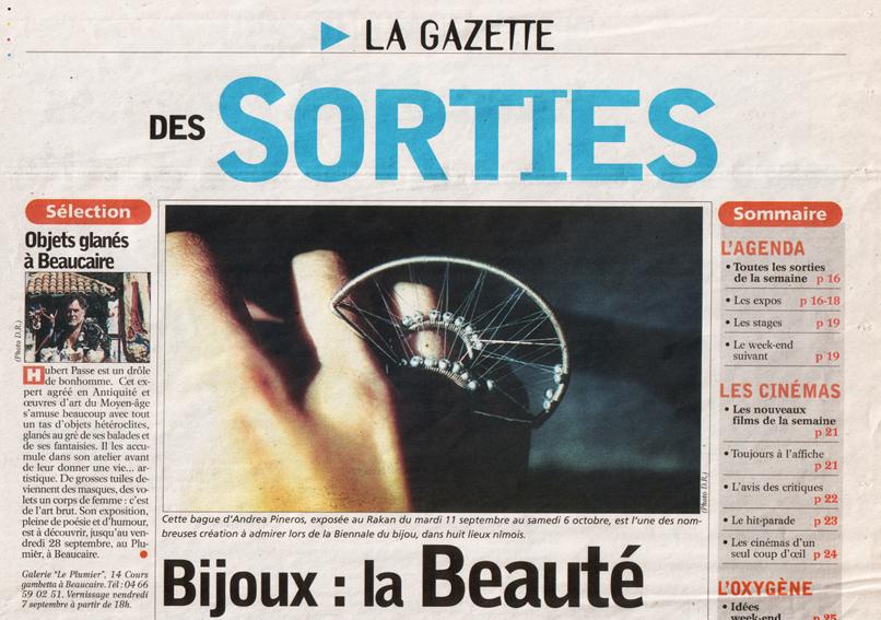 La gazette de Nîmes