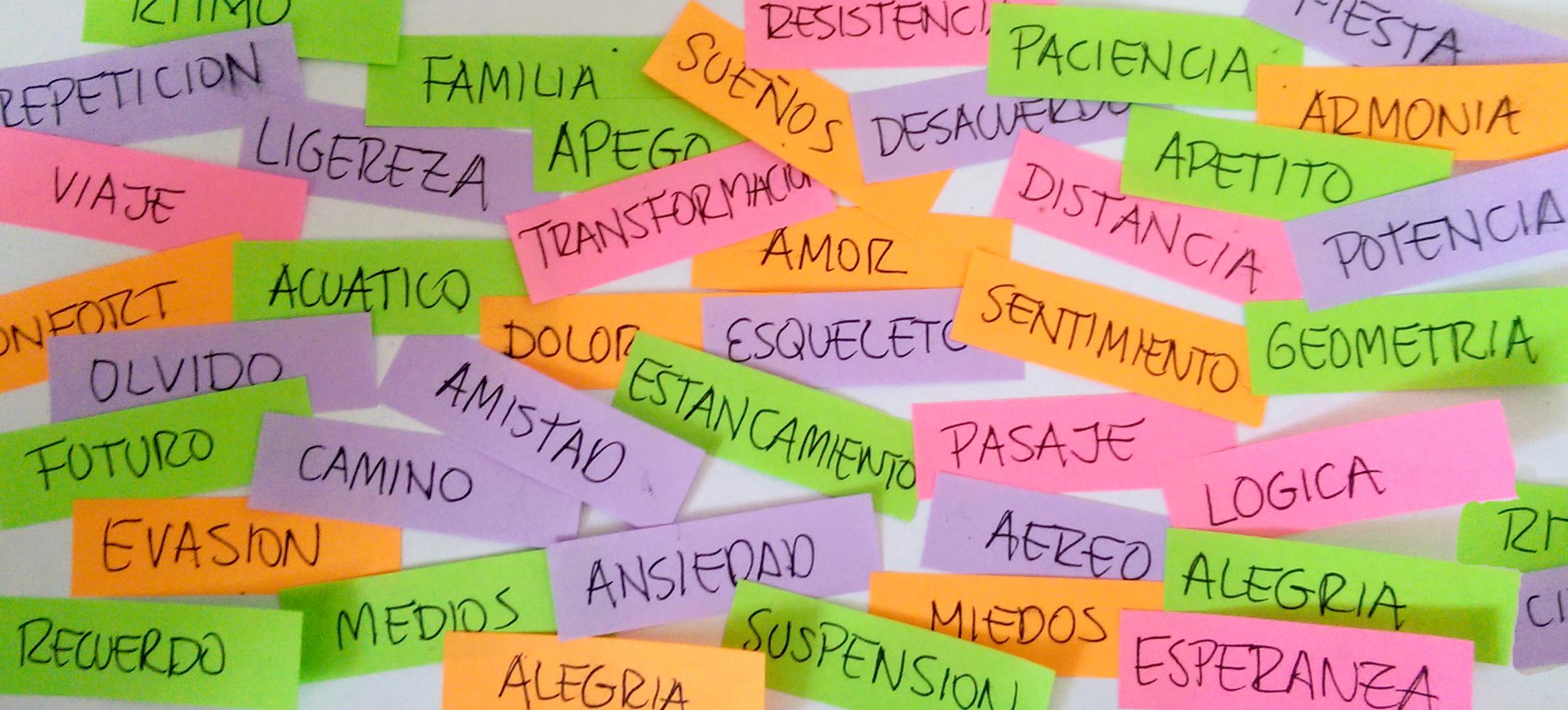 PALABRA EXPLICITA & MATERIA IMPLICITA – Workshop en Bogota