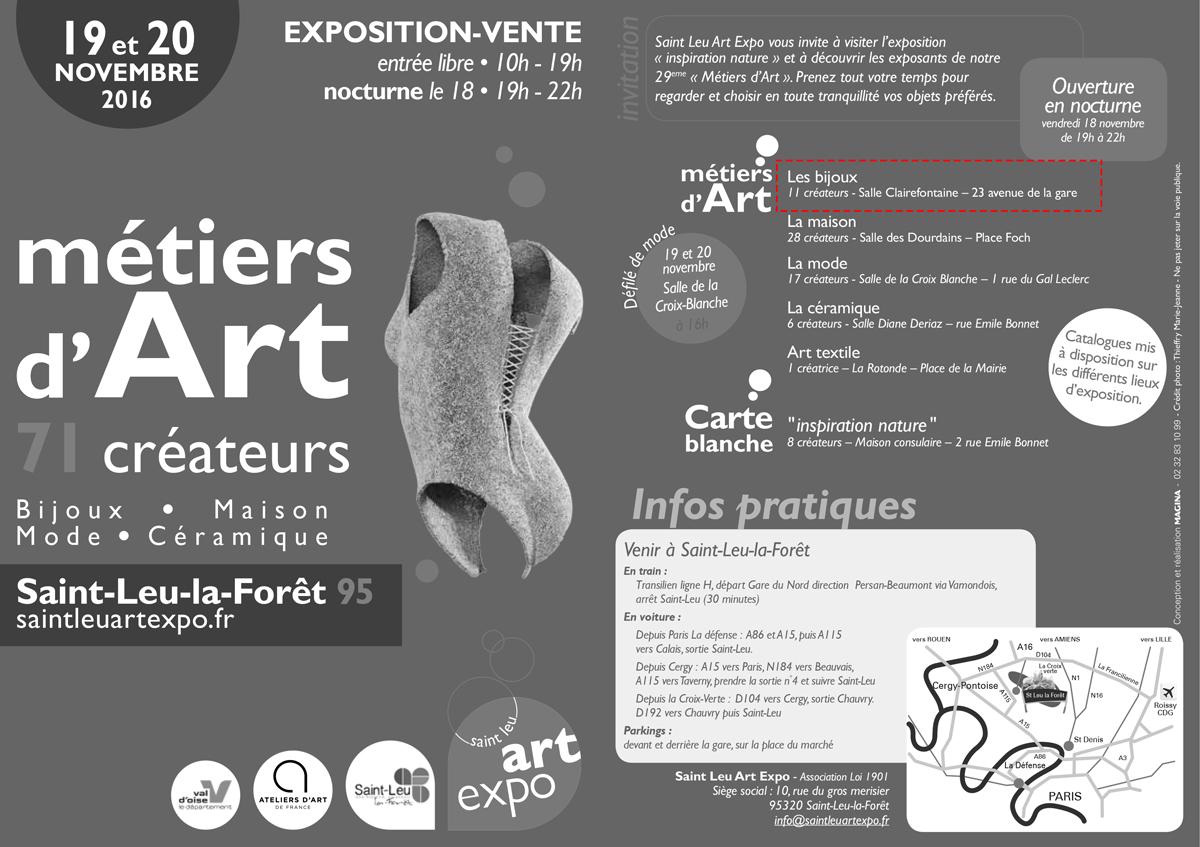 Expo-Vente à Saint Leu la fôret