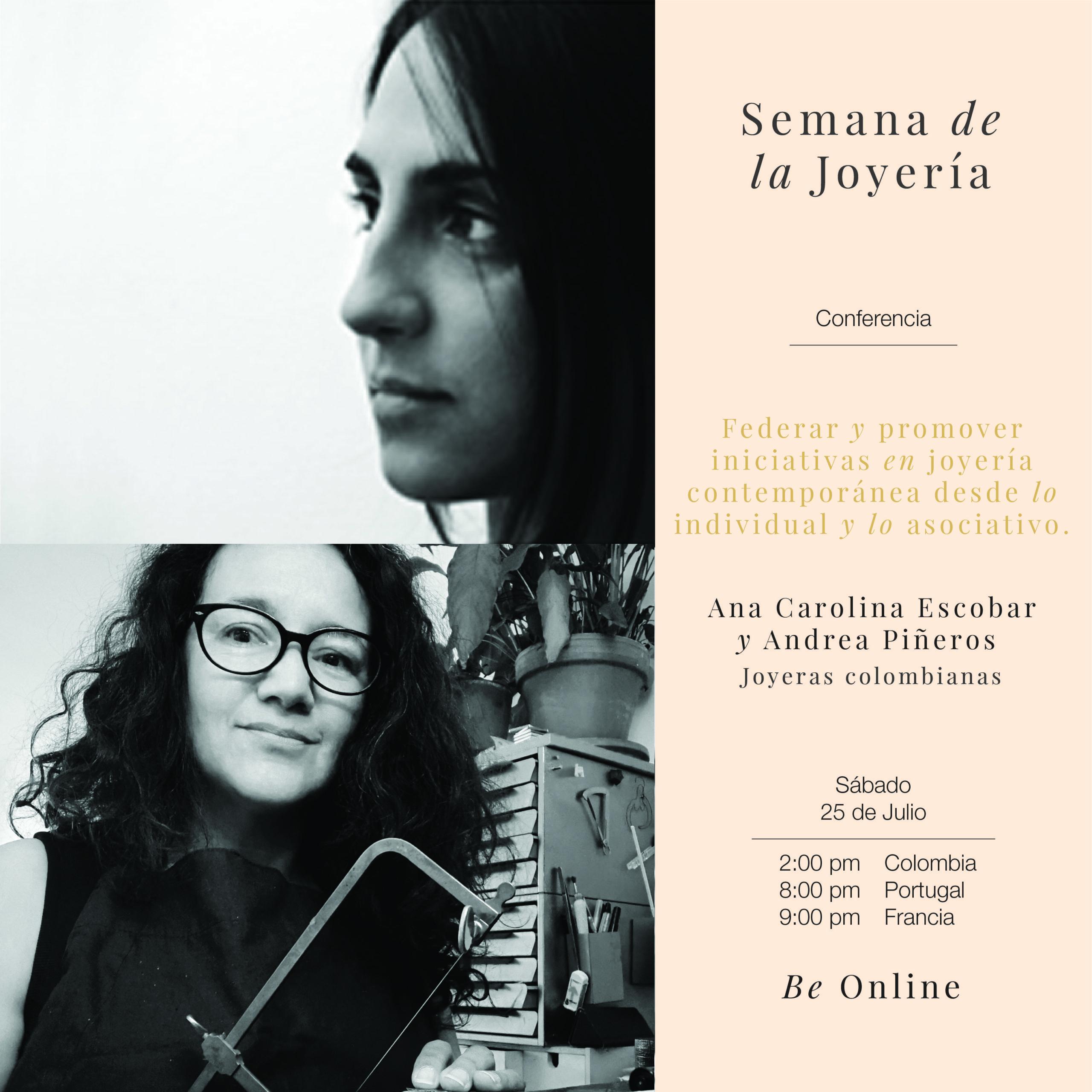 CONFÉRENCE A LA JEWELLERY WEEK COLOMBIA