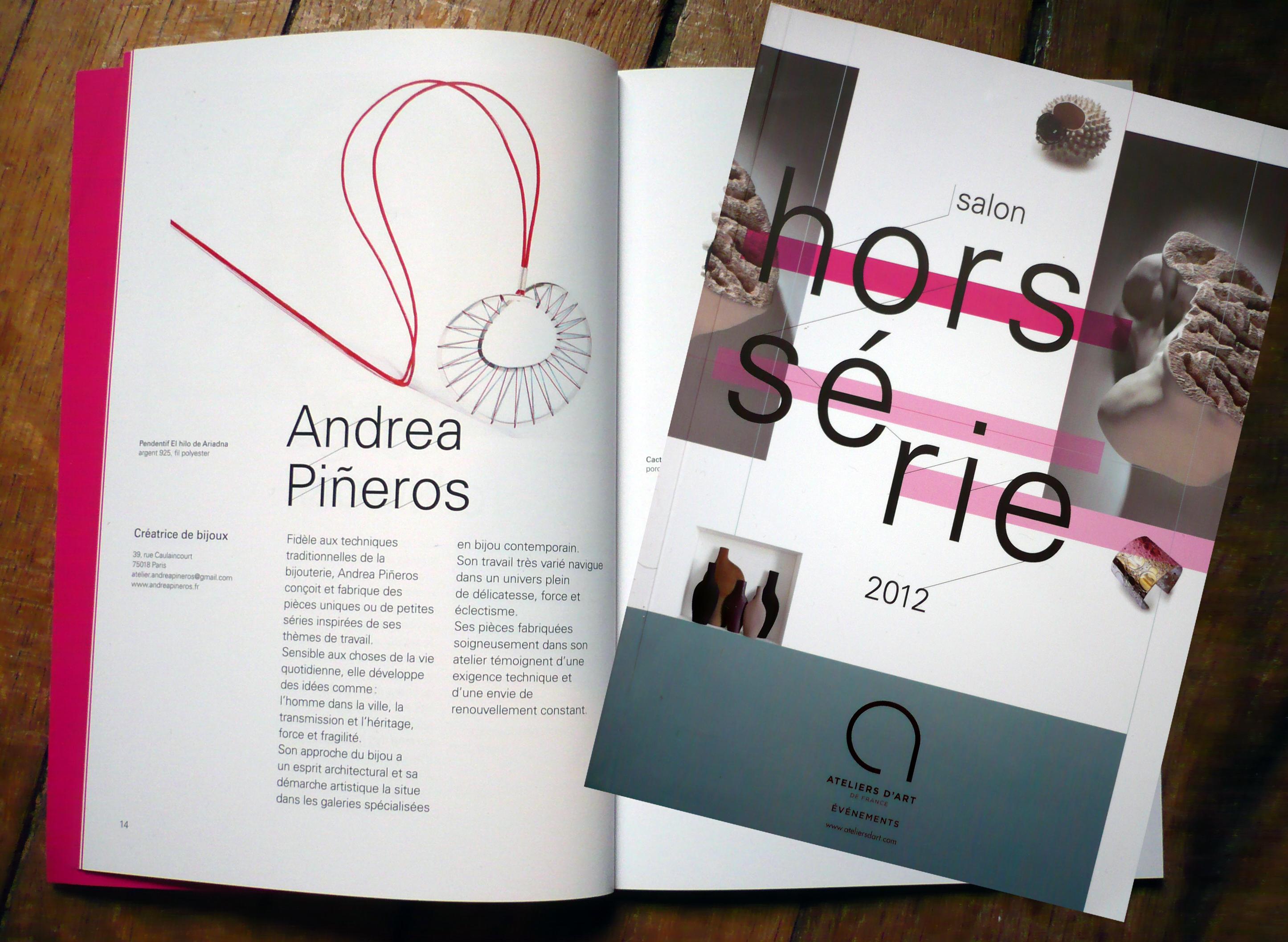 Catalogue d'exposition Hors Série