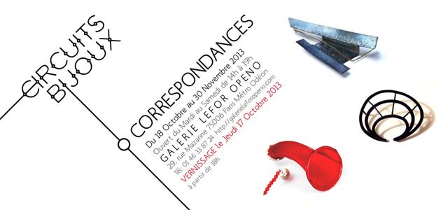 Exposition CORRESPONDANCES